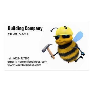 Cartões da construção e de indústria da construção modelo cartoes de visita