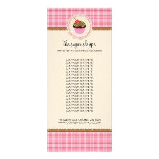 Cartões da cremalheira do produto do boutique da 10.16 x 22.86cm panfleto