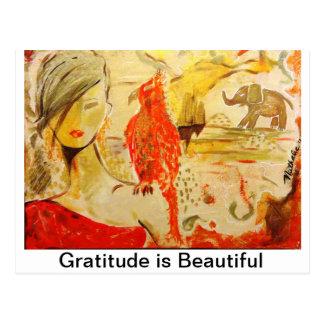 Cartões da gratitude