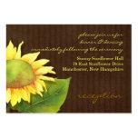 Cartões da inserção da recepção de casamento do gi cartão de visita