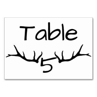 Cartões da mesa da mesa 5 do Antler