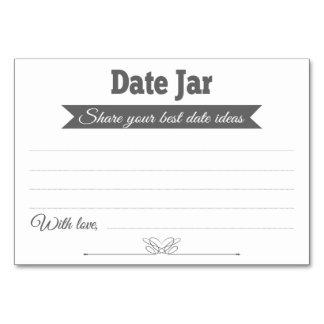 Cartões da mesa de cartões do casamento das ideias