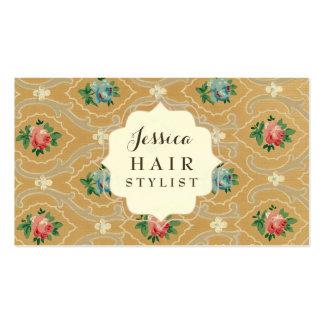 Cartões da nomeação do cabeleireiro do papel de cartão de visita