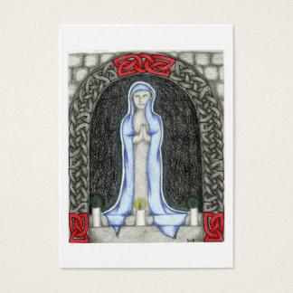 Cartões da oração de Mary da saraiva