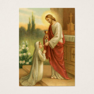 Cartões da oração: Eucaristia em todas as coisas