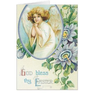 Cartões da páscoa do vintage - religiosos