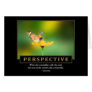Cartões da perspectiva