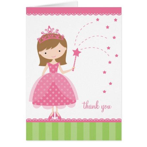 Cartões da princesa nota