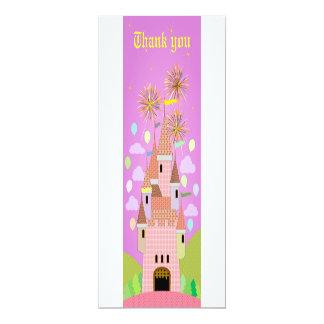 Cartões de agradecimentos 029 do aniversário de convite personalizados