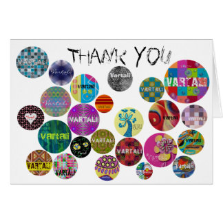 Cartões de agradecimentos 2 de Vartali