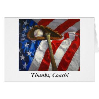Cartões de agradecimentos a treinar