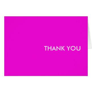 """Cartões de agradecimentos--""""as pessoas roxas"""