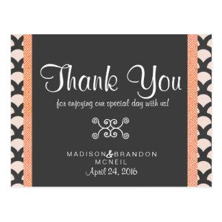 Cartões de agradecimentos bonitos brilhantes de N Cartão Postal