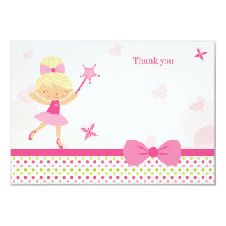Cartões de agradecimentos bonitos do aniversário convite