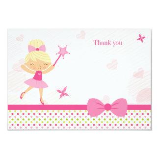 Cartões de agradecimentos bonitos do aniversário convite 8.89 x 12.7cm