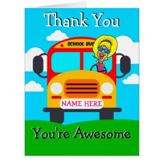 Cartões de agradecimentos bonitos PERSONALIZADOS
