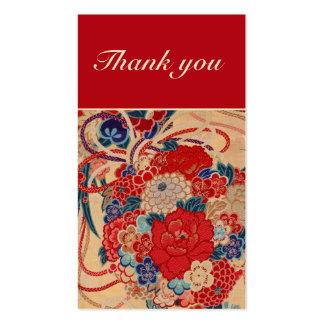 Cartões de agradecimentos modelos cartoes de visita