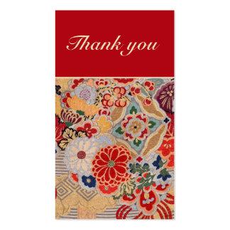 Cartões de agradecimentos modelos cartão de visita