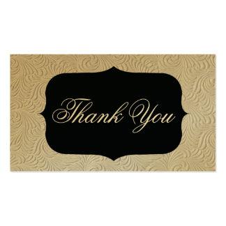 cartões de agradecimentos cartão de visita