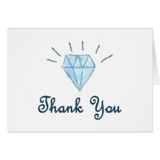 Cartões de agradecimentos - casamento - design do