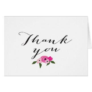 Cartões de agradecimentos - casamento ou chá de