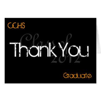 Cartões de agradecimentos CCHStiger2