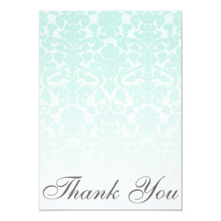 Cartões de agradecimentos chiques simples do convite 12.7 x 17.78cm