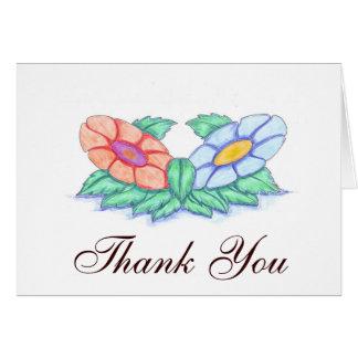 Cartões de agradecimentos clássicos