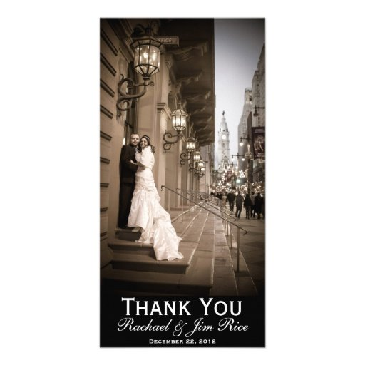 Cartões de agradecimentos clássicos cartoes com foto personalizados