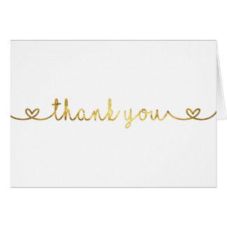 Cartões de agradecimentos com a pia batismal da