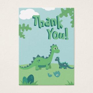 Cartões de agradecimentos com as mamães bonitos e