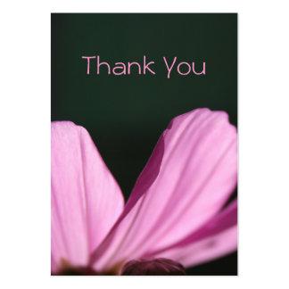 Cartões de agradecimentos - Comos & Sun - fotograf Cartão De Visita