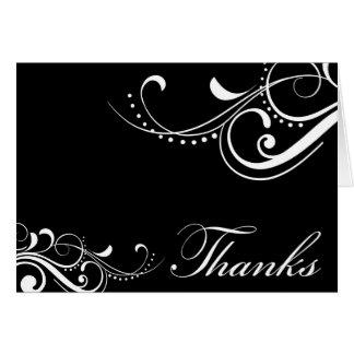 Cartões de agradecimentos contemporâneos