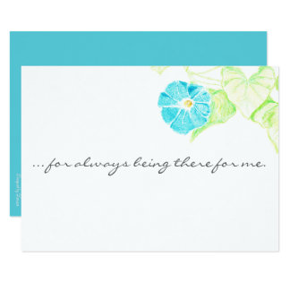 Cartões de agradecimentos customizáveis da convite 8.89 x 12.7cm