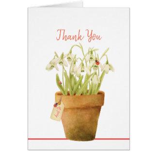 Cartões de agradecimentos customizáveis do