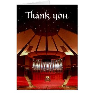 Cartões de agradecimentos da câmara municipal de