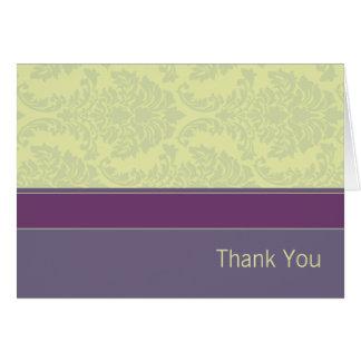 Cartões de agradecimentos da coleção do amor da