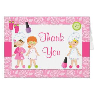 Cartões de agradecimentos da festa de aniversário