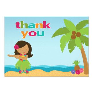 Cartões de agradecimentos da festa de aniversário  convite