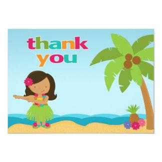 Cartões de agradecimentos da festa de aniversário convite 12.7 x 17.78cm
