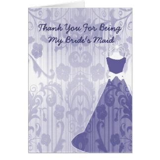 Cartões de agradecimentos da festa de casamento