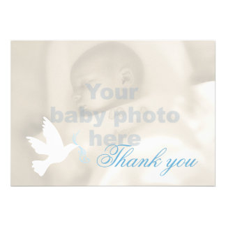 Cartões de agradecimentos da foto do baptismo dos