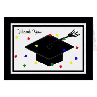 Cartões de agradecimentos da graduação -- Boné de