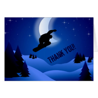 Cartões de agradecimentos da montanha da