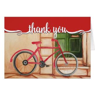 Cartões de agradecimentos da pintura a óleo da