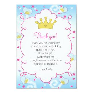 Cartões de agradecimentos da princesa Borboleta