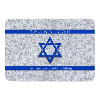 Cartões de agradecimentos da simpatia do granito convite 8.89 x 12.7cm