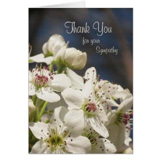 Cartões de agradecimentos da simpatia -- Flores do