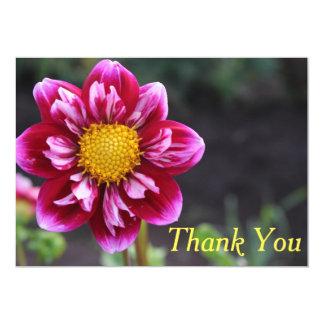 Cartões de agradecimentos: Dália de Fuschia