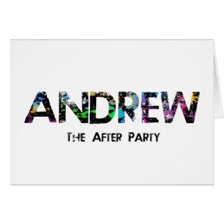 Cartões de agradecimentos de Andrew
